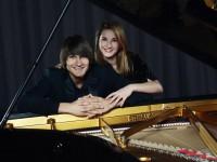 Izcilais latviešu pianists Vestards Šimkus un talantīgā pianiste Aurēlija Šimkus koncertēs Ģentē