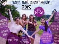 """Īpaši izdevīga pieteikšanās akcija """"1+1 =  2X2"""" uz pasaules latviešu jaunatnes semināru 2X2"""