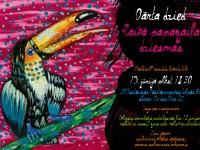 Pasākums bērniem 'Dārta dzied raibā papagaiļa dziesmas'