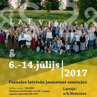 """Sākusies pieteikšanās pasaules latviešu jaunatnes semināram """"2×2"""""""