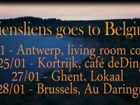 """Beļģijā koncertēs mūsdienu tautas mūzikas oriģinālautors un izpildītājs """"Siensliens"""" no Latvijas"""