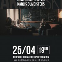 Koncerts Briselē – Aija Andrejeva un Kārlis Būmeistars. Akustiski.