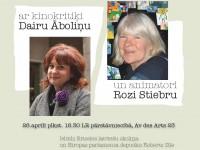 Tikšanās ar kinokritiķi Dairu Āboliņu un animatori Rozi Stiebru