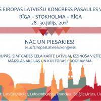 Vēl 8 dienas līdz pieteikšanās slēgšanai Eiropas Latviešu kongresam!