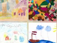 """Zīmējumu konkurss bērniem """"Man Latvija ir visskaistākā"""""""