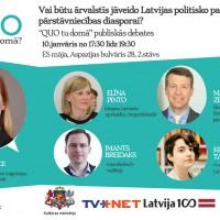 Debates: Vai būtu ārvalstīs jāveido Latvijas politisko partiju pārstāvniecības diasporai?