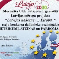 Uldis Šalajevs iesniedz valsts amatpersonām jauniešu viedokli par Latvijai veicamajām reformām
