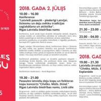 """Ir izsludināta pieteikšanās Pasaules latviešu dienas Konferencei """"Latvieši pasaulē – piederīgi Latvijai!"""