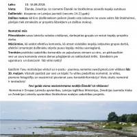 Jauniešu nometne TEV no 10.-16.08.2018. Pieteikšanās līdz 20.05.2018