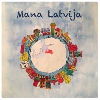 """Zīmējumu konkurss bērniem  """"Latvijai 100″"""