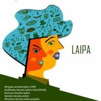 Diasporas amatierteātru festivāla LAIPA 5. gadu jubilejas izlaidums Latvijas simtgades svinību ietvaros