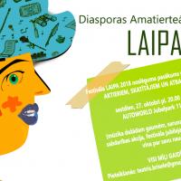 Diasporas amatierteātru festivāla LAIPA 2018 Noslēguma ceremonija un BALLĪTE