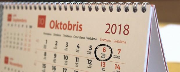 Pasākumi ar Latvijas vārdu Beļģijā – Oktobris 2018