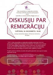 Reemigrācijas diskusija Briselē – pilsoniskā līdzdalība -16/12/2018