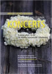 Briseles latviešu dejotāju sezonas noslēguma koncerts – 8.06.2019