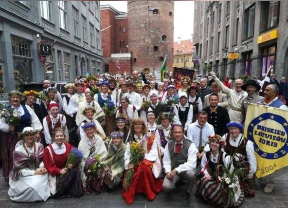 Briseles latviešu koris (2)