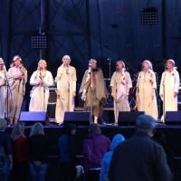 Latvijas Republikas proklamēšanas dienai veltīta pieņemšana ar brīvās gribas ansambļa Stiprās sievas uzstāšanos