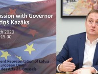 Diskusija par Latvijas ekonomikas aktualitātēm ar jauno Latvijas Bankas prezidentu