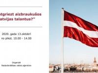 """13. oktobrī notiks remigrācijas tēmai veltīta konference """"Kā atgriezt aizbraukušos Latvijas talantus?"""""""