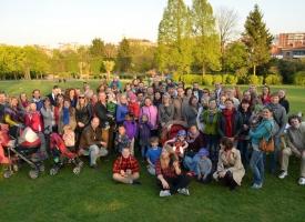 Baltā galdauta svētku pikniks Briselē – 4/05/2016