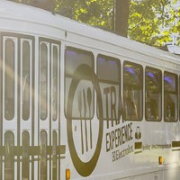 "Latviešu ēdieni ""Brussels Tram Experience"""