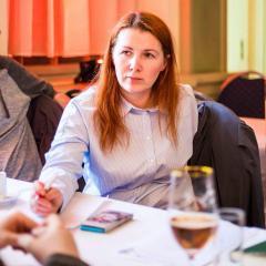 Tikšanās ar Mg.Psych. grafoloģi Anitu Milleri – 8.12.2018, Briselē