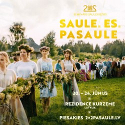 2×2 aicina pasaules latviešu jauniešus piedalīties saulgriežu svinēšanā Latvijā