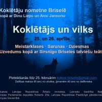 """Koklētāju nometne """"Koklētājs un Vilks"""" Briselē 25.04-26.04.2020"""