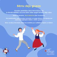 Aicinām pieteikties deju skolotājus bērnu grupām